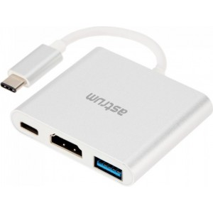 USB-C - Hdmi + Usb + Type-c Adapter
