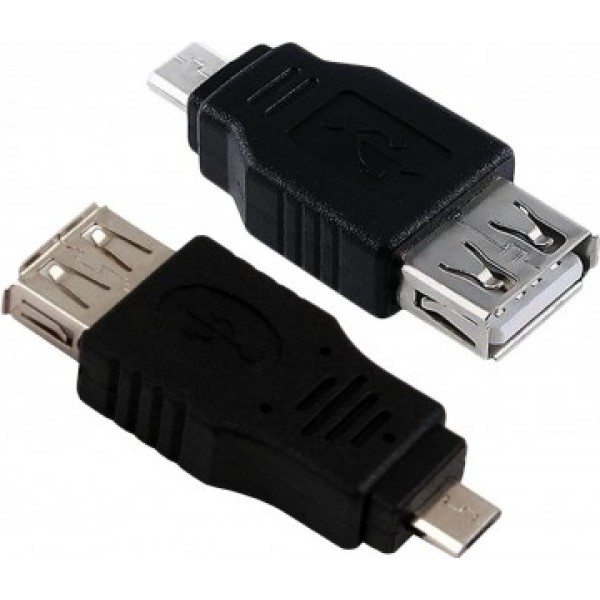 Micro USB2.0 - Female Coupler Adapter